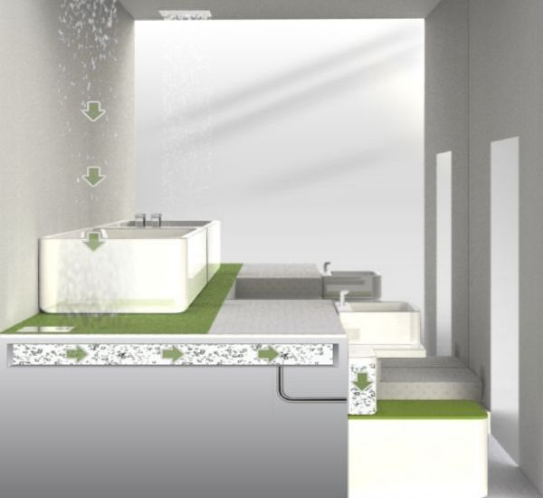 Greener Bathroom By Indian Designer