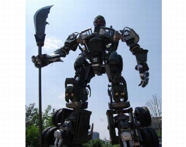 Guan Yu Optimus Prime