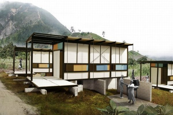 Earthquake proof homes to allow safe refuge during natural ...
