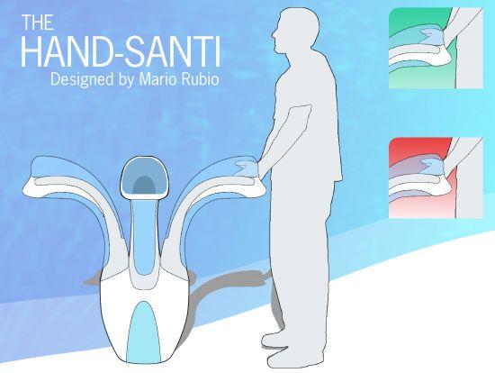 hand santi