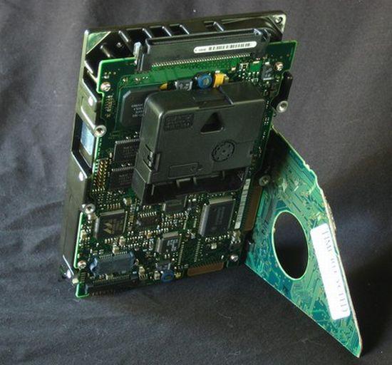 hard drive desk clock 04
