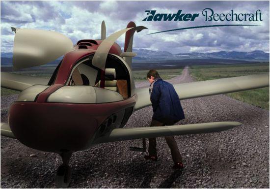 hawker beechraft light sport aircraft 04