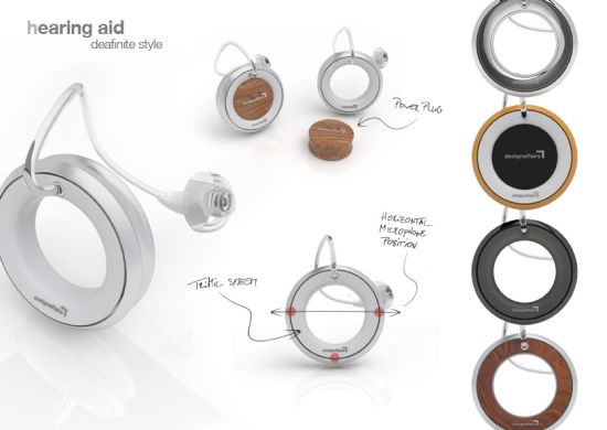 Deafinite Style hearing aid doubles as jewelry for the trendy