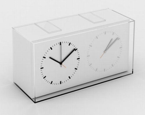 home away clock