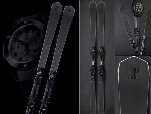 hublot all black ski