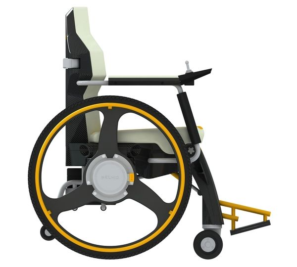 Hybrid Wheelchair Infuses A Lively Spirit In The