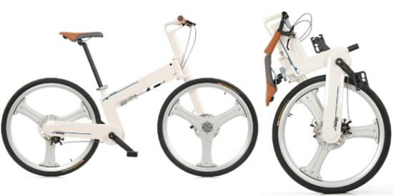 if mode folding bike
