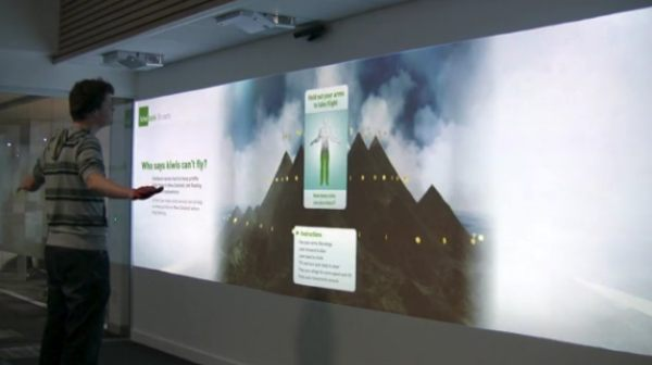 kiwibank interactive digital wall from lumen