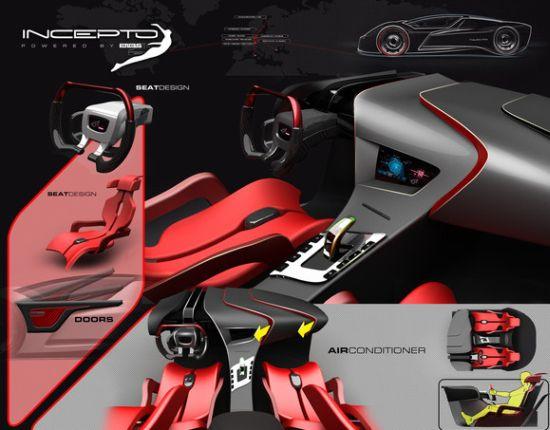 incepto sportscar concept 15