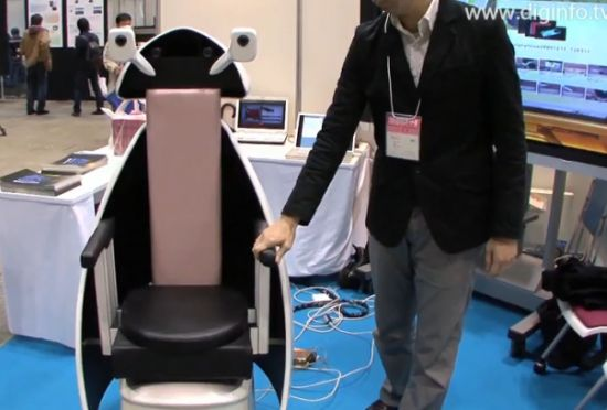 indoor personal mobility robot