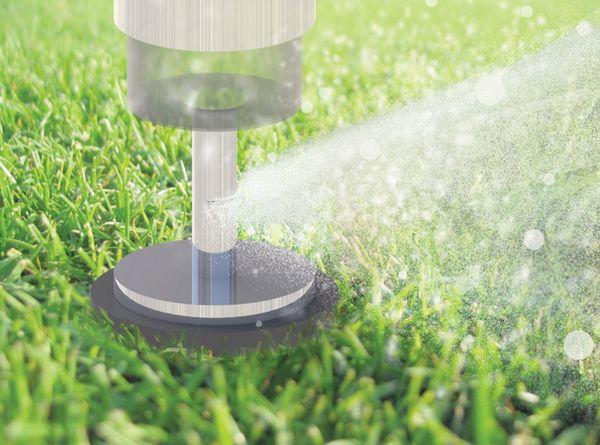 Innovative Sprinkler/Pathway Light