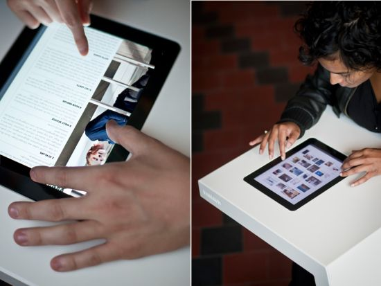 ipad integrated table 4