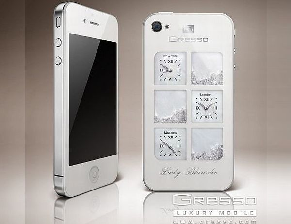 iPhone 4 Lady Blanche