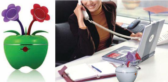ipom flower pot ipod speake 2