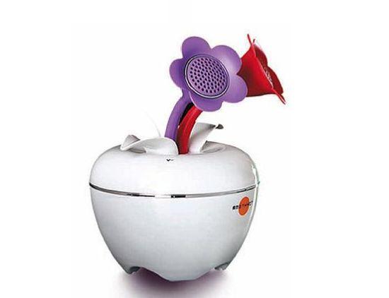 ipom flower pot ipod speaker 1