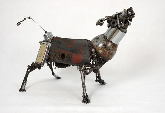james corbett car parts sculpture 1 BzMj2 58