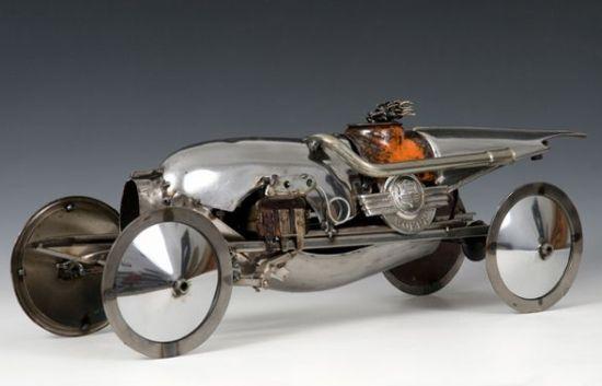 james corbett car parts sculpture 4 buPNF 58