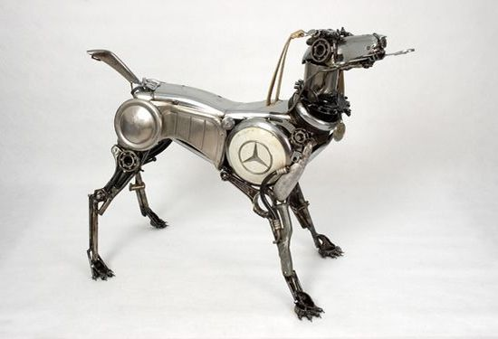 james corbett car parts sculpture 6 9U4lZ 58