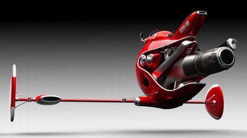 jet powered flying bike EIiI7 5965