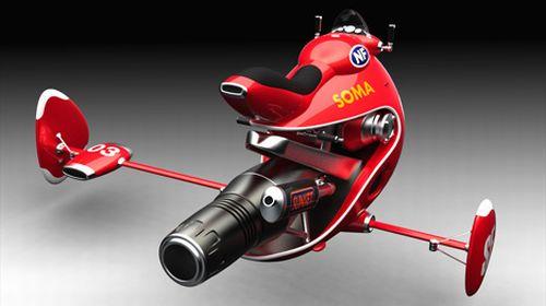 jet powered flying bike KCZDg 5965