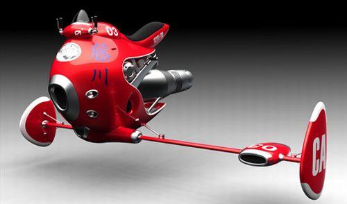 jet powered flying bike dQlKI 5965