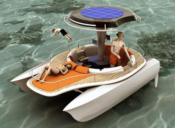Jonathan Mahieddine's human powered boat