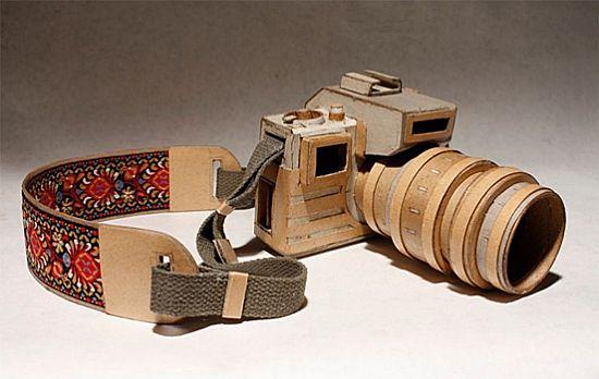kiel johnson cardboard cameras 1