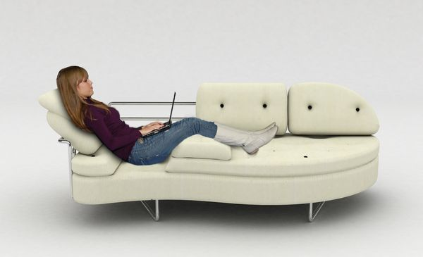Laidback Multifunctional Futon Sofa For Perfect Ergonomic