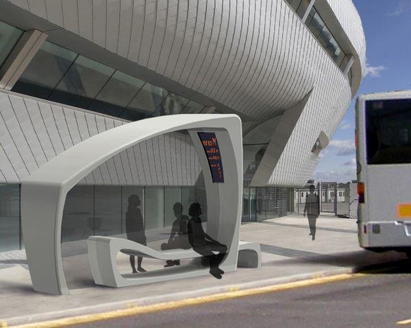 Дизайн проект автобусной остановки