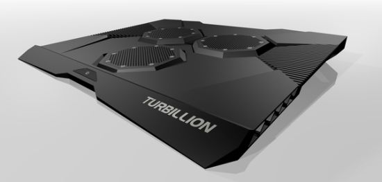 Turbillion Cooler Lets You Work Nonstop On Your Laptop