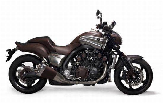 leather vmax bike