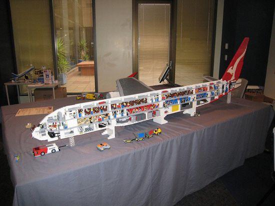 lego airbus a380 10