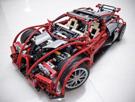lego technic bugatti veyron 01