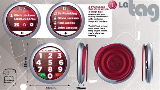 lg tag mobile phone