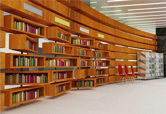 library interior design 1