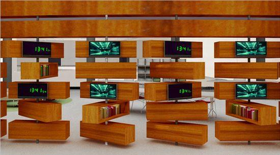 library interior design 3
