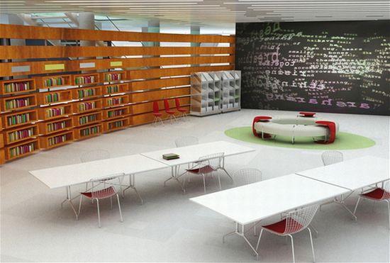 library interior design 4