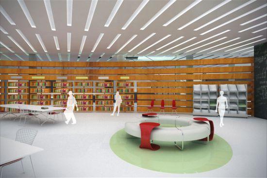 library interior design 5