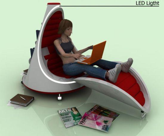 light and armchair 03