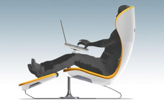 lounge chair workstation