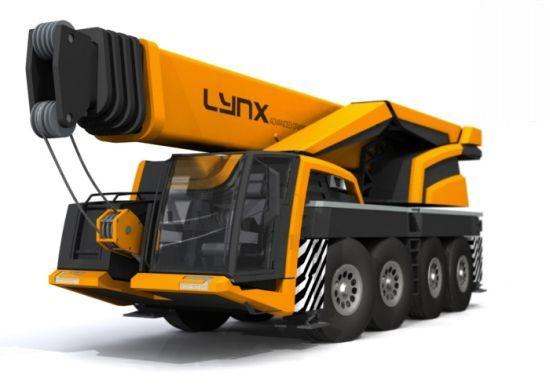 lynx mobile crane concept JM1WP 58