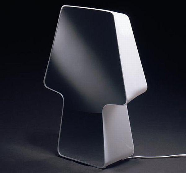 Vanity Makeup Lamp : Shadow: Stylish makeup mirror lamp to reinterpret vanity - Designbuzz