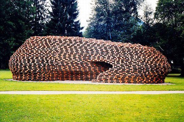 Matthias Loebermann's Pallet Pavillion