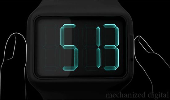 mechanized digital watch 03