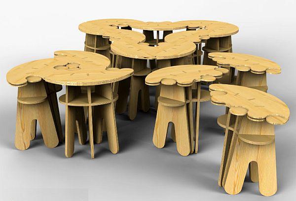 mew modular table