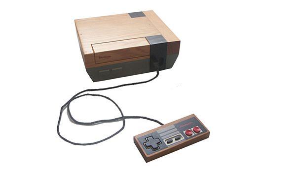 Mike Leavitt's Wooden NES