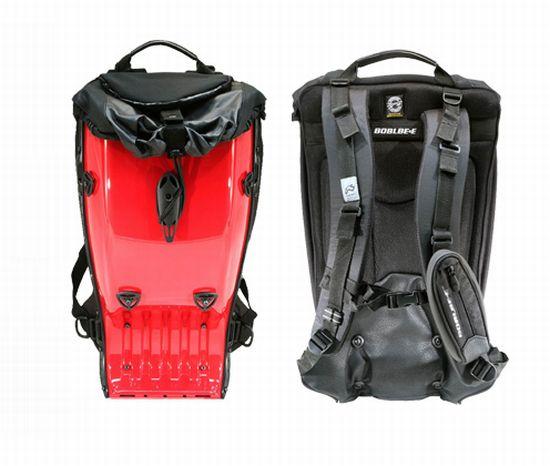 mint plastic backpack 2