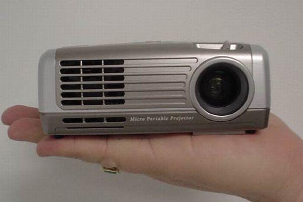Mitsubishi's Pocket Projector