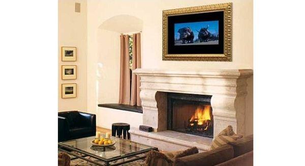 Motorized Mirage-Mirror Conceals Flat-Panel TVs