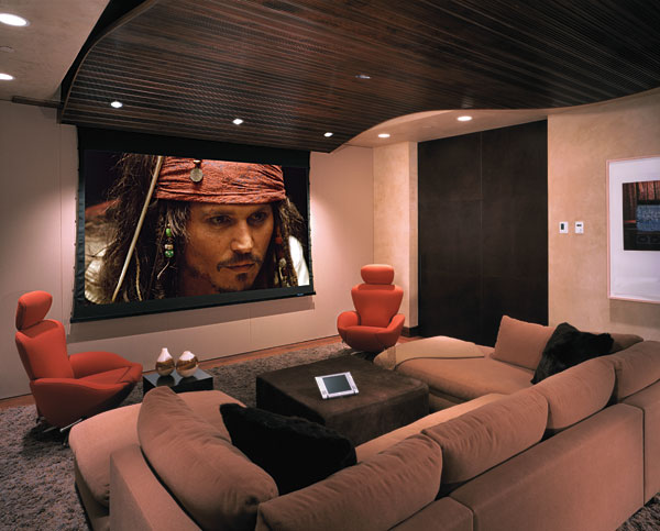Hi tech home theater design ideas - Designbuzz